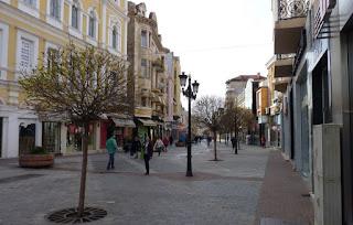Plovdiv, Calle Aleksandrovska.