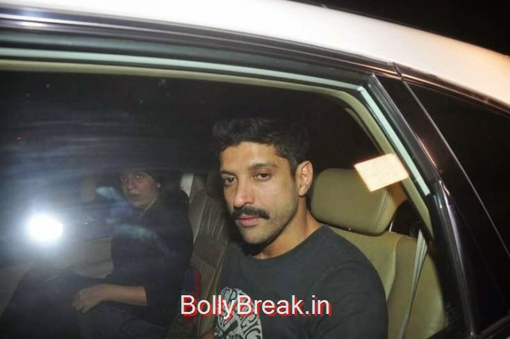 Farhan Akhtar, Kiran Rao, Mini Mathur Sidharth Malhotra and Gari Khan at Ranbir Kapoor's Party