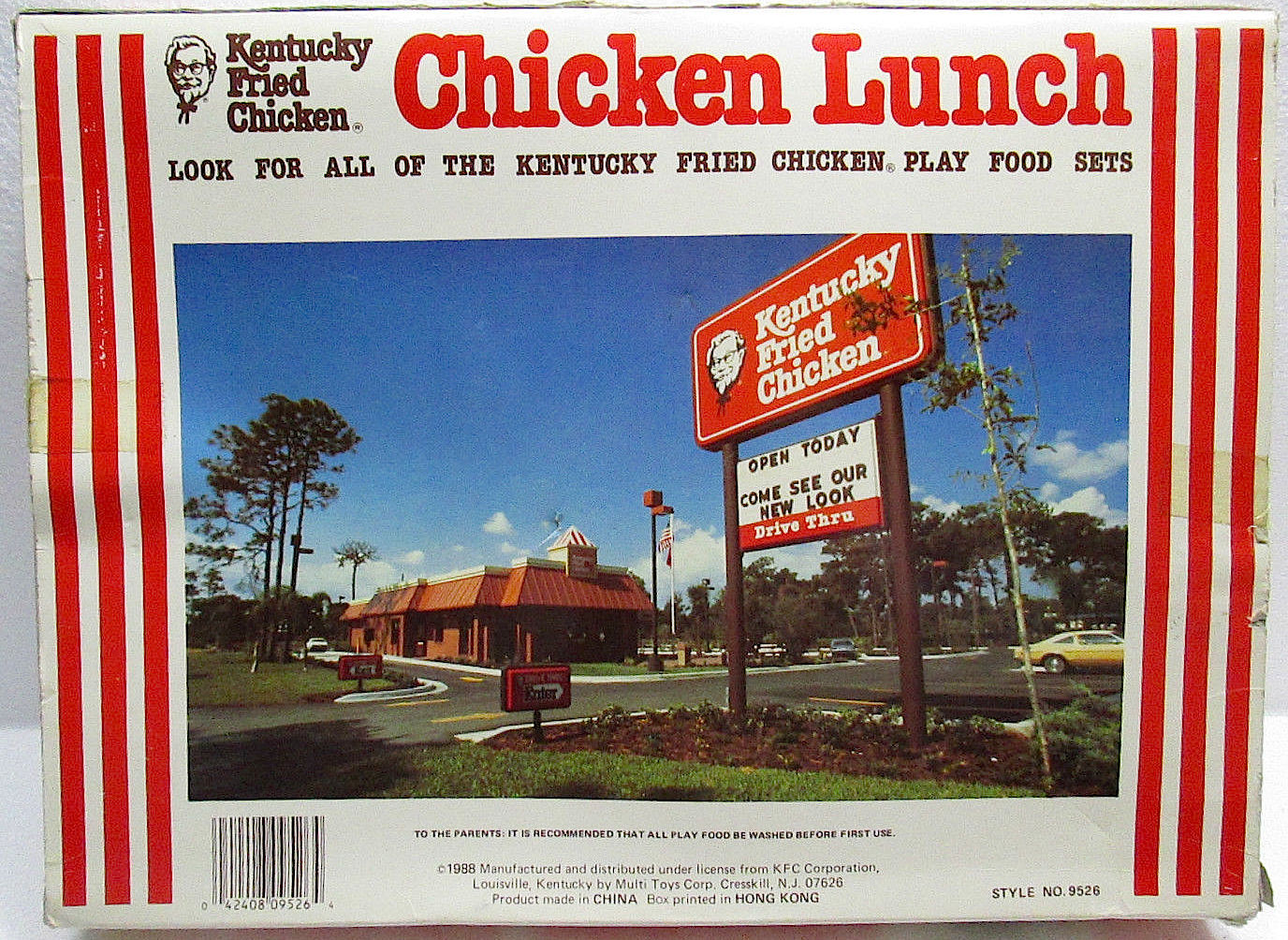 Menu Kentucky Fried Chicken