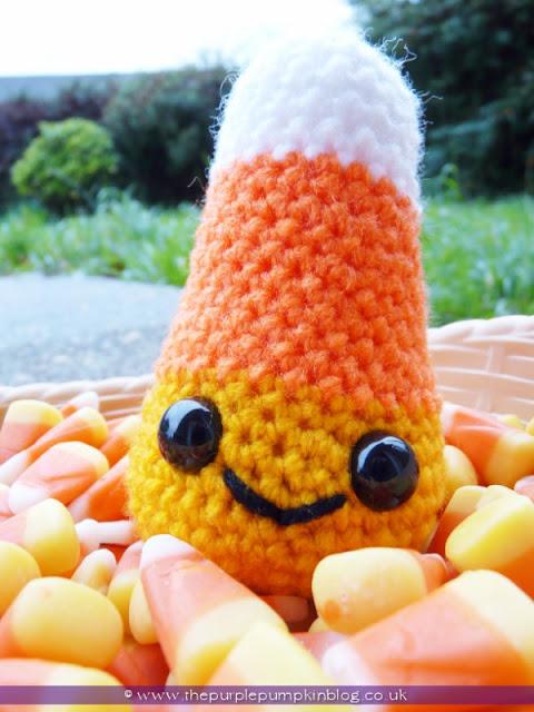 Amigurumi Crochet Candy Corn | The Purple Pumpkin Blog