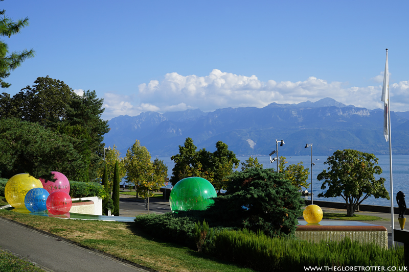 Olympic Park and Museum in Lausanne