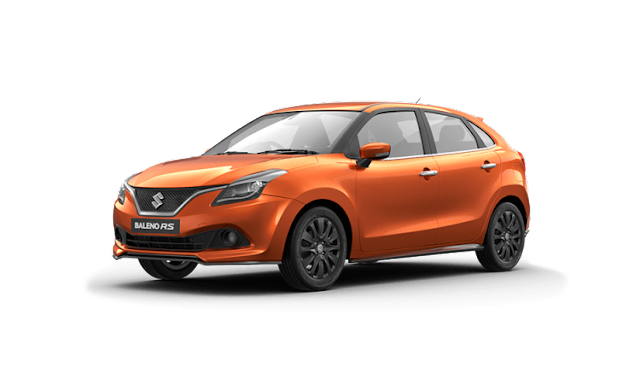 New 2017 Maruti Suzuki Baleno RS three qauter side image