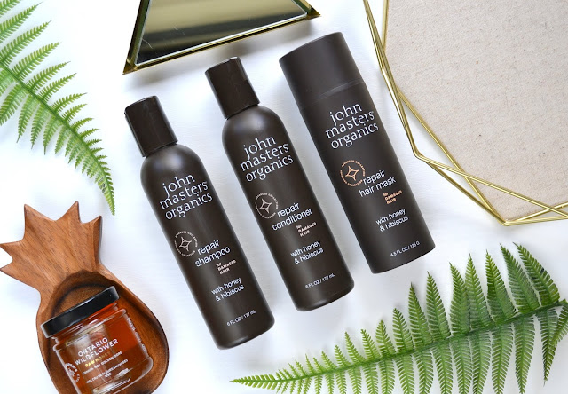 John Masters Organics Honey and Hibiscus Collection