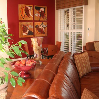 I Have Used Deep Red In My Dining Room Which Is Right Beside The Bedroom Colors Are And Wilmington Tan On Surrounding Walls Living