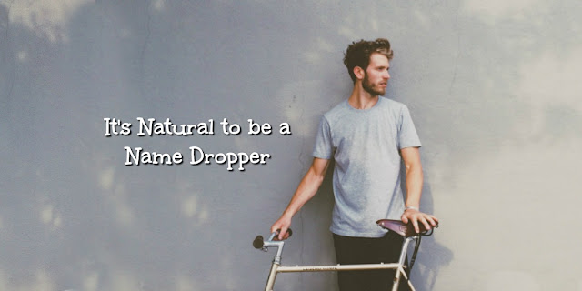 "There's a very natural way to share Christ I call ""Name Dropping."" This 1-minute devotion explains. #BibleLoveNotes #Evangelism"