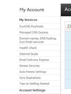 DDNS free Dydndns