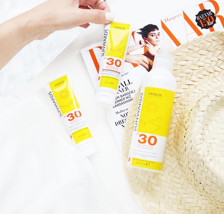 Synchroline Sunwards Spray do ciała z filtrem ochronnym SPF 30