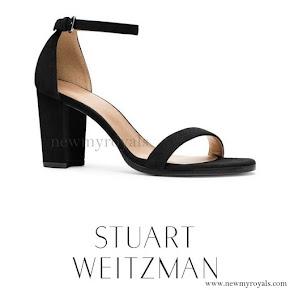 Princess Charlene wore Stuart Weitzman Sandal