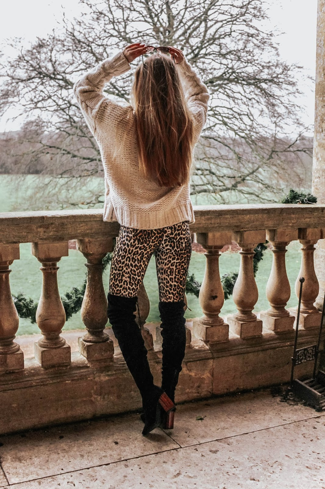 Sexy Leopard Print Leggings Trousers
