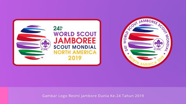 Gambar Logo resmi Jambore Dunia Ke-24 tahun 2019