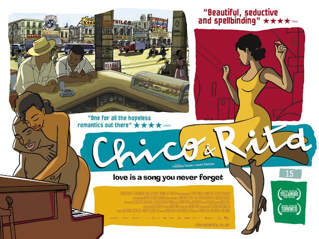 Blog Afro revue de film - Chico et Rita