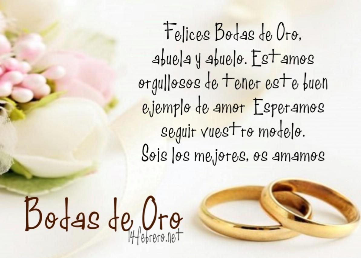 Frases Aniversario De Bodas: Frases 50 Anos De Casados Bodas De Oro