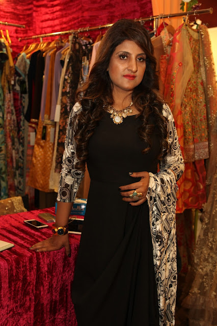 Designer Asma Gulzar at Celebrating Vivaha-