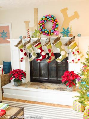 http://ohmyheartsiegirl.com/christmas-mantels/