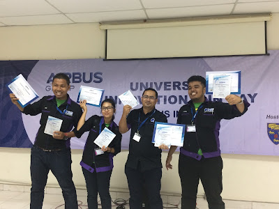 The champion team from University Teknikal Malaysia Melaka (UTeM) won prize money of RM3,000, individual plaques and certificates of participation.