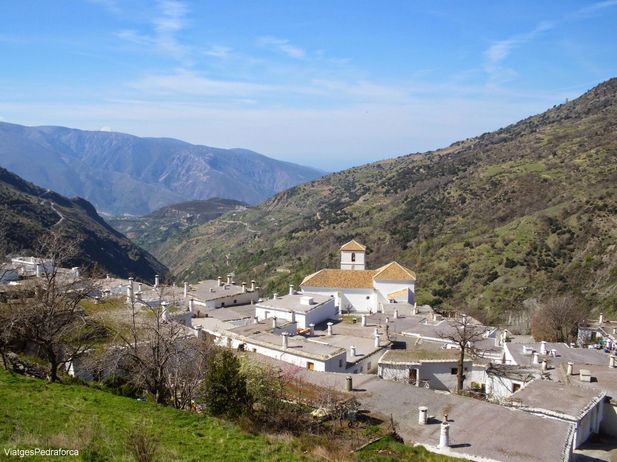Bubion Alpujarra Granadina Barranco del Poqueira Sierra Nevada Andalucia