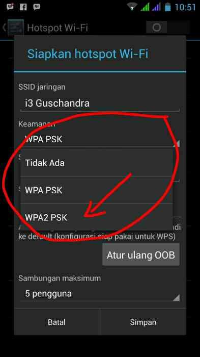 cara membobol wifi dengan keamanan wpa2-psk android