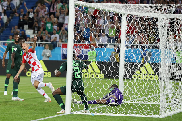 Croatia wins Nigeria