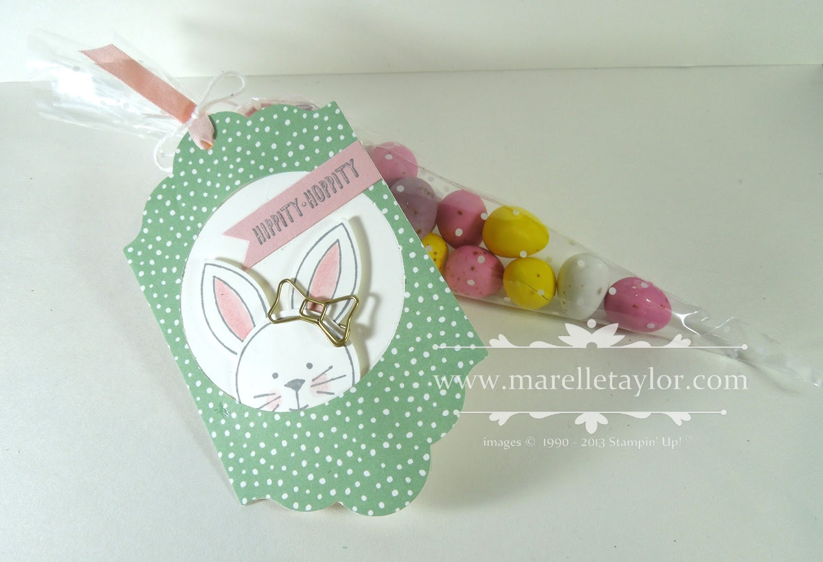 Marelle taylor stampin up demonstrator sydney australia friends i always like to have a few cute easter tags on hand ready to attach to an easter gift when i saw the tag on page 46 i knew i had to negle Images