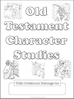 Notebooking Nook: Free Old Testament Character Study