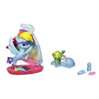 Sea Pony Rainbow Dash Brushable