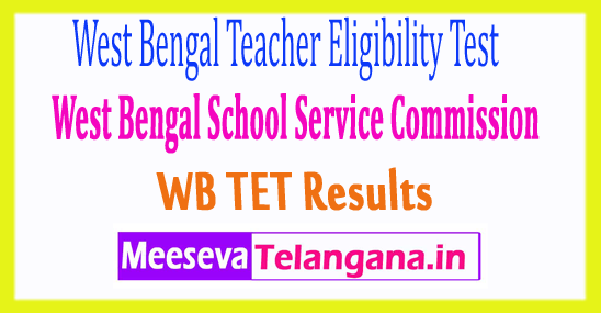 West Bengal Teacher Eligibility Test WB TET Results 2017