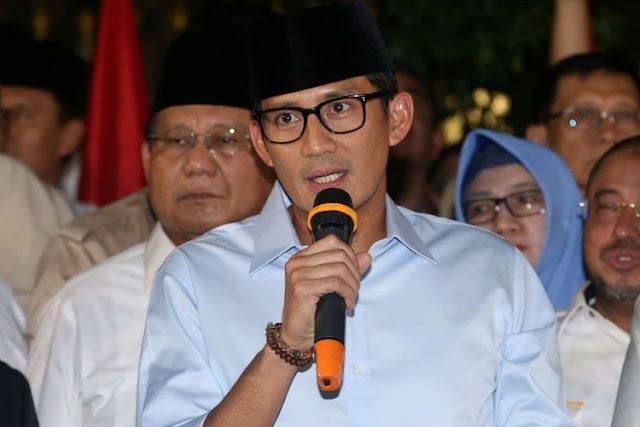 Korupsi Bupati Kotim Jadi Bukti Ucapan Prabowo Soal Anggaran Bocor, Sebut Sandiaga