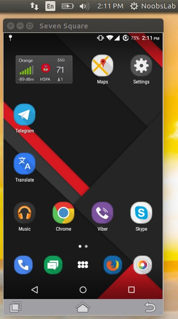 How to Mirror Your Android Device in Linux using Seven Square