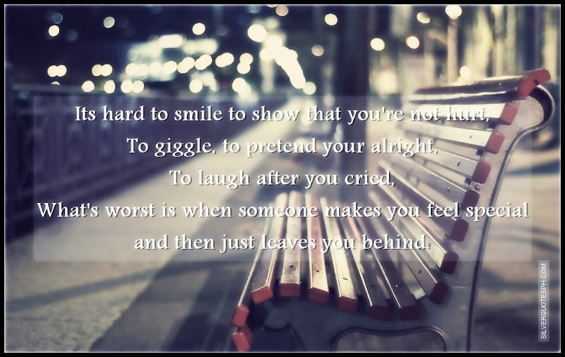 Its Hard To Smile To Show That You're Not Hurt, Picture Quotes, Love Quotes, Sad Quotes, Sweet Quotes, Birthday Quotes, Friendship Quotes, Inspirational Quotes, Tagalog Quotes
