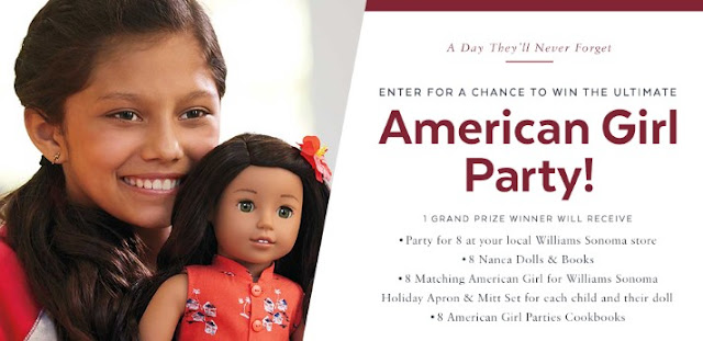 American Girl Party 2017 Sweepstakes