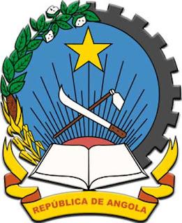 Gambar lambang negara Angola
