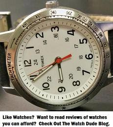 The Watch Dude Blog