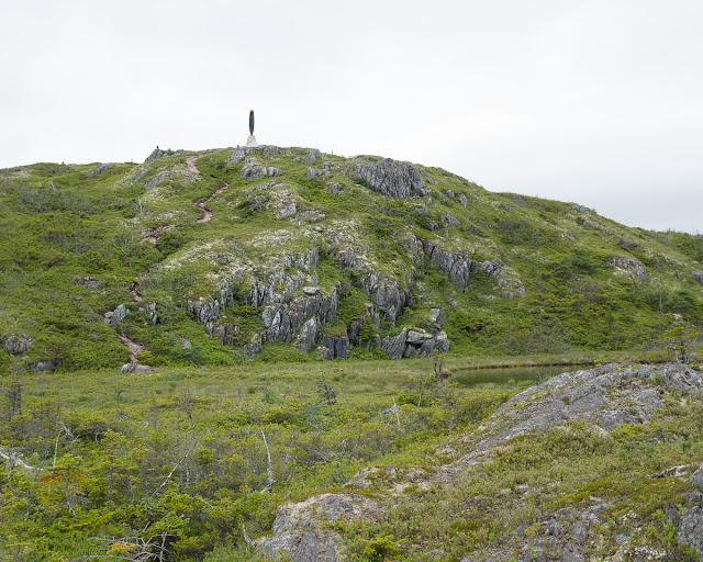 B-36 Crash Site Monument Burgoyne's Cove Newfoundland