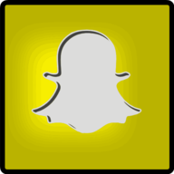 snap chat button icon