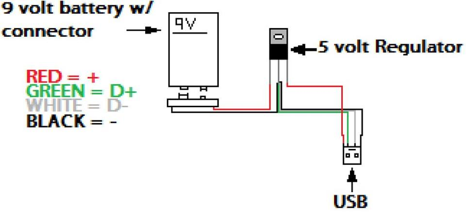 Power Bank Circuit Diagram