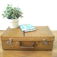 Comprar maleta pequeña color ocre amarilla