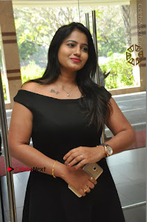Telugu Actress Swathi Reddy Latest Stills in Black Gown  0055.JPG