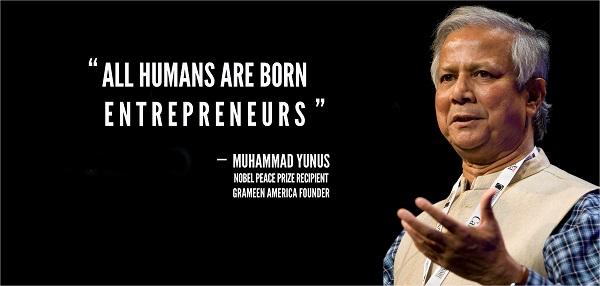Autossustentável: Muhammad Yunus