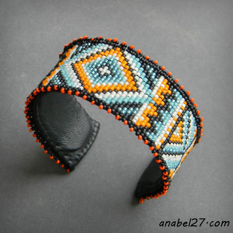 Купить индейский браслет из бисера