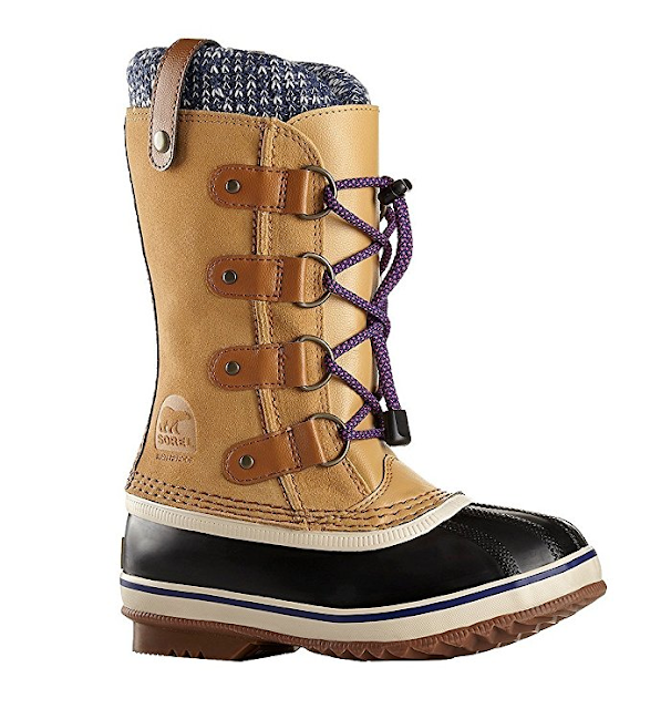 Amazon: Sorel Kids Joan Of Arctic Knit Boots only $40 - $50 + free shipping!