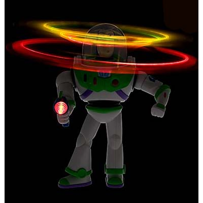 Nybbles Amp Bytes Buzz Lightyear Light Chaser Toy Battery