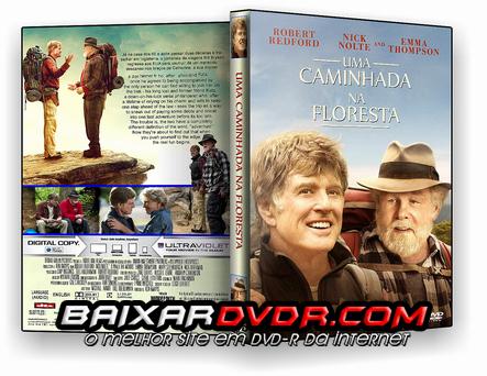 UMA CAMINHADA NA FLORESTA (2016) DUAL AUDIO DVD-R CUSTOM