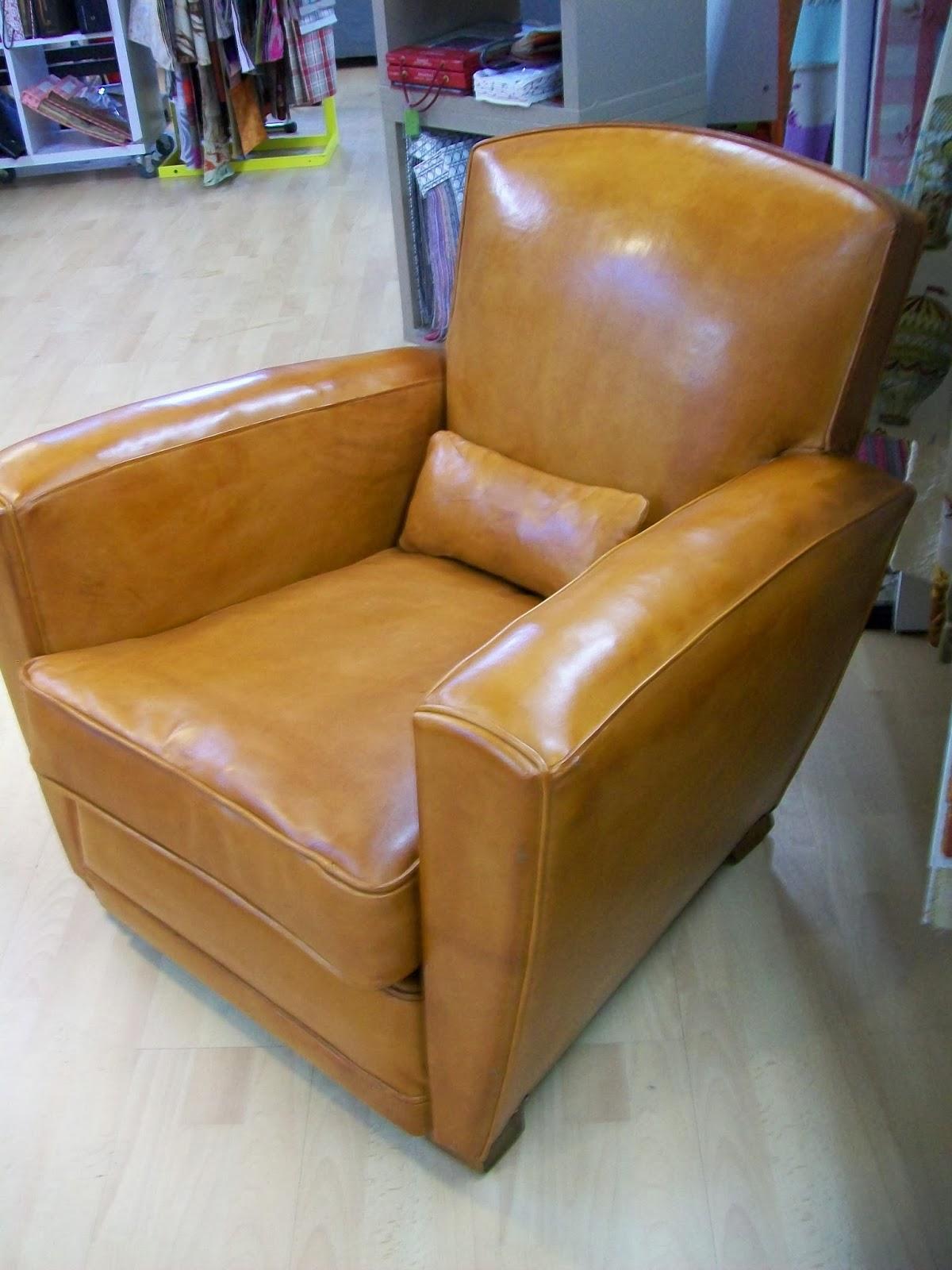 l 39 fauteuil club cuir. Black Bedroom Furniture Sets. Home Design Ideas