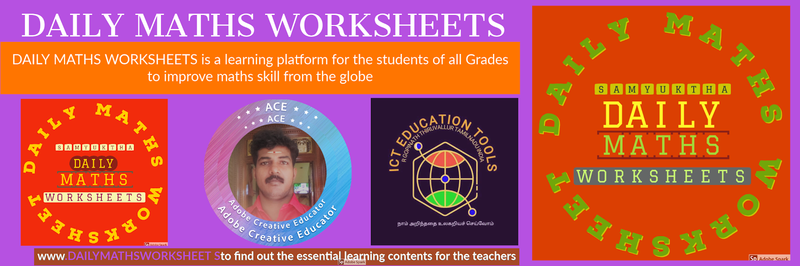 DAILY MATHS WORKSHEETS COLLECTIONS