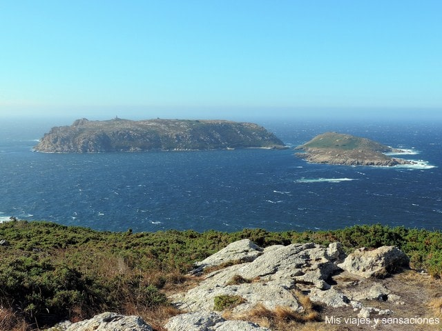 Islas Sisargas desde el Cabo San Adrián, Malpica, Costa da Morte, Galicia