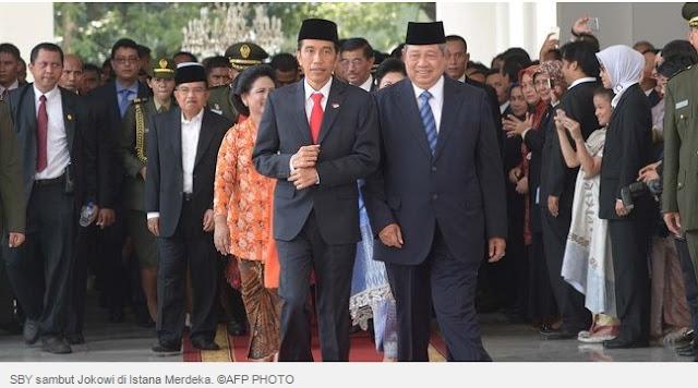 SBY sambut jokowi