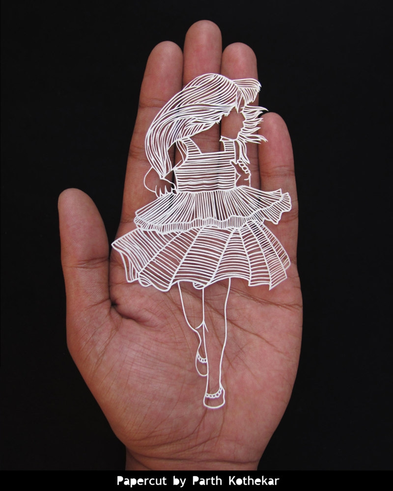 07-Running-Parth-Kothekar-Beauty-and-Precision-in-Paper-Cut-Silhouettes-www-designstack-co