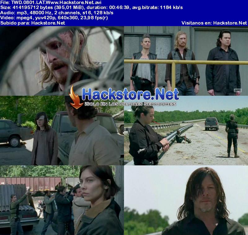 Capturas de The Walking Dead Octava Temporada Español Latino