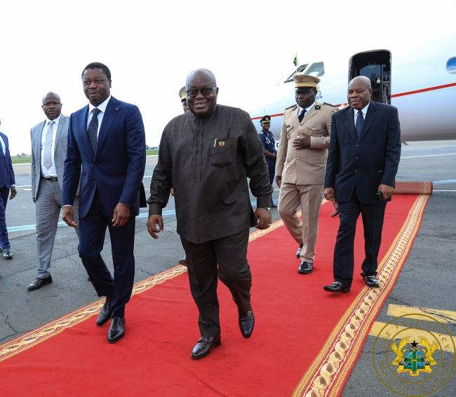 Ghana, Togo Commission Joint Border Post