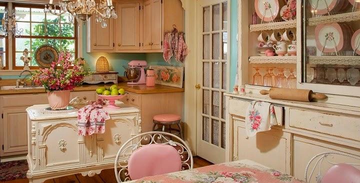 Cozinhas Decoradas Estilo Vintage Decora 231 227 O E Ideias